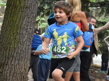 Tričko Báječné děti v běhu