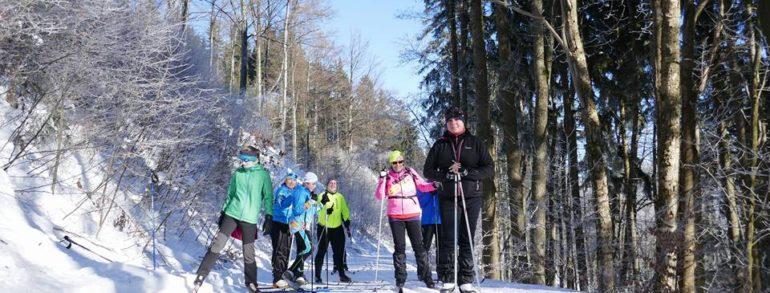 II.Běžkařské soustředění-Kořenov 27.-29. leden 2017