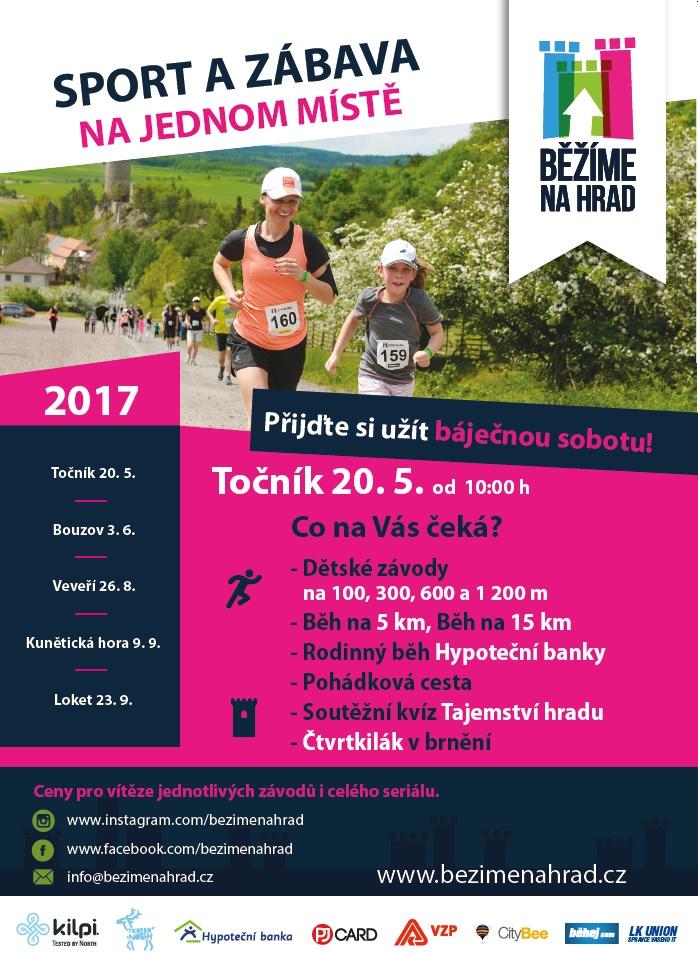 Seriál Běžíme na hrad startuje již tuto sobotu na Točníku!