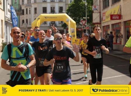 Jak jsem běžela RunTour v Ústí nad Labem