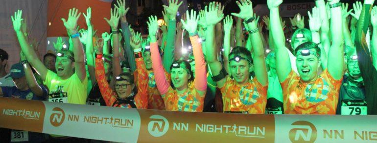 Na NN Night Runu v Mostě se zúčastnilo přes 1200 závodníků