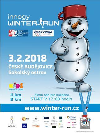 České Budějovice běží innogy Winter Run