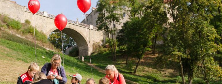 Seriál Běžíme na hrad zakončí sezónu na hradě Veveří